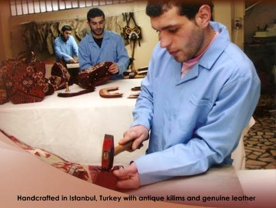 Handcrafted in Istanbul, Turkey
