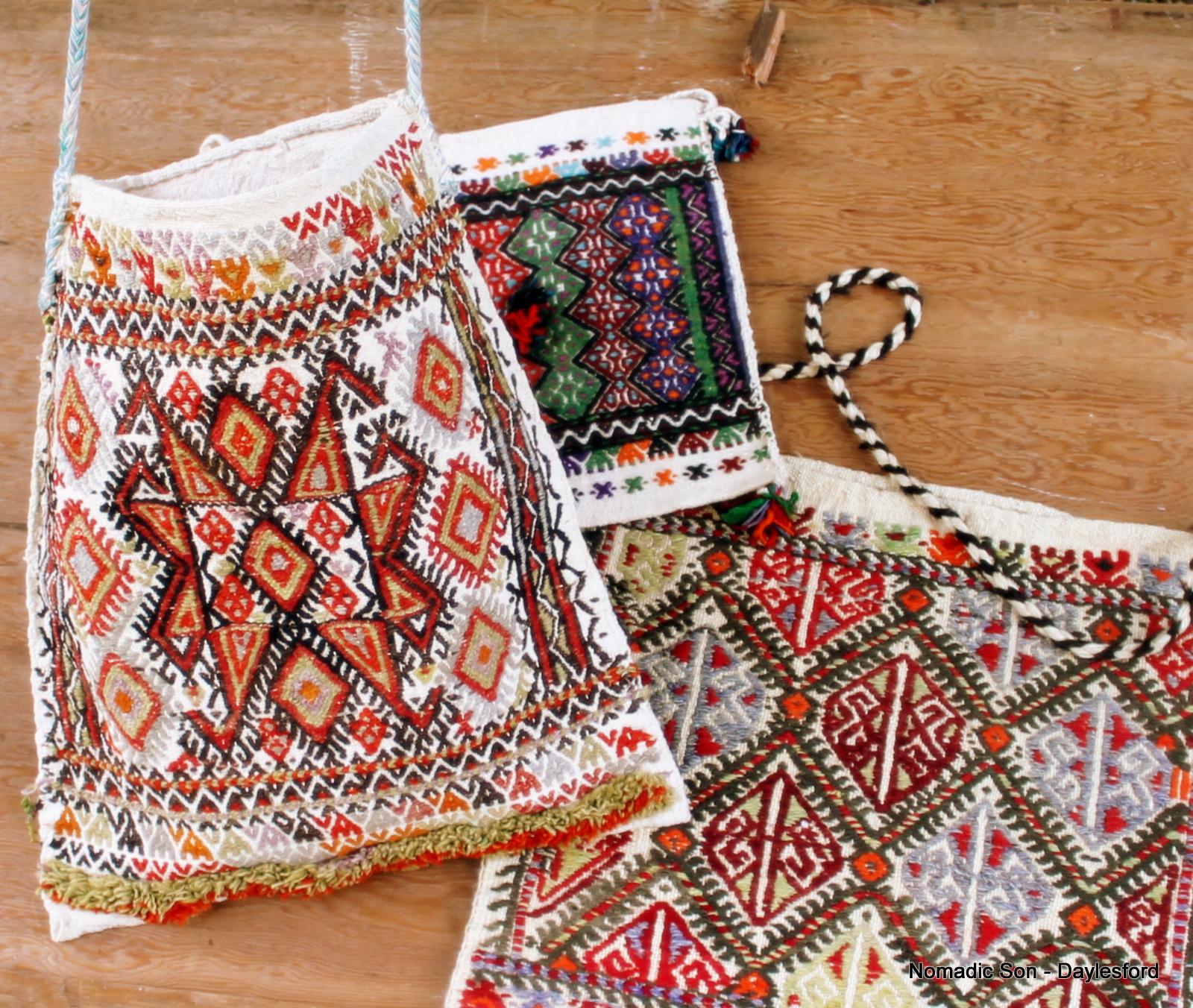 Anatolian Shepherd Kilim Bags